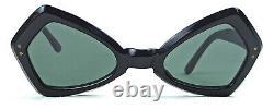 Une Temps De Sanglasses Vintage Cat Eye Original 50s France Paris Paris Partie Eye Wear Nos
