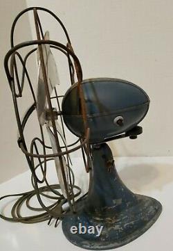 Vintage 1950's Westinghouse Électric Fan Art Deco Works No De Cat. 10la
