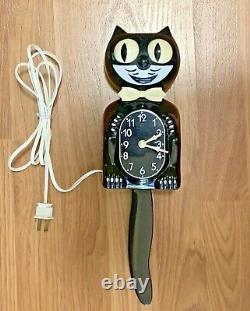 Vintage 1982 Kit Cat Mur Électrique Klock D8 San Juan Capistrano Horloge Original