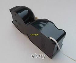 Vintage 80s Électrique-black Kit Cat Klock-kat Clock Original Moteur Rébuilt-works
