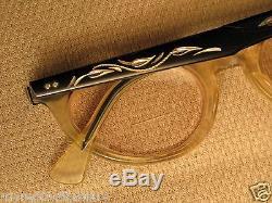 Vintage American Optical Cat Eye Montures De Lunettes / Small 46 20 5 1/4