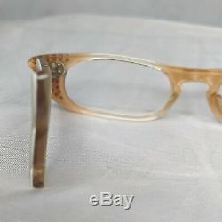Vintage Cat Eye Cream Swank Montures De Lunettes France 1950 Lunettes Petit Court