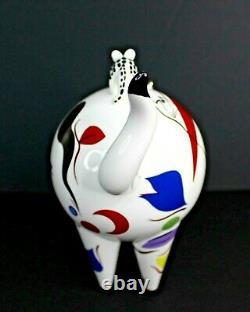 Vintage Villeroy & Boch France Animal Park Par R Benedikt Cat Figurine Porcelaine