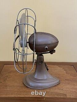 Vintage Westinghouse Art Deco 4 Éventail D'oscillation Électrique Blade Cat 10 La 4