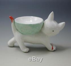 Walter Bosse Metzler & Ortloff Allemagne Figurine Kitty Cat Art Deco Des Années 1930