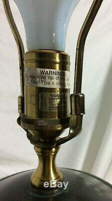 Wildwood Brass Urne Lampe Trépied Cat Claw Pied Torche Art Déco Néo-classique Superbe